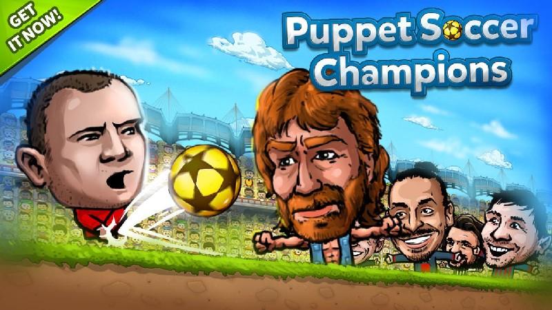 Puppet Soccer Champions APK MOD imagen 4