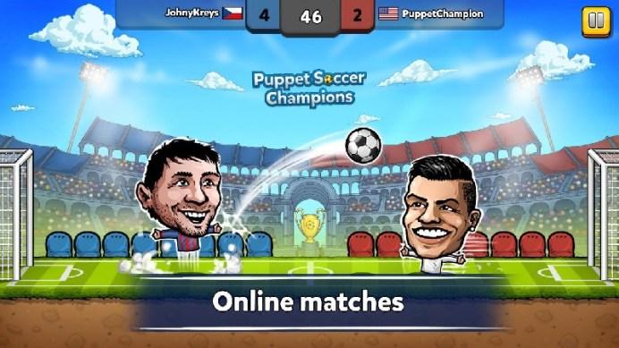 Puppet Soccer Champions APK MOD imagen 5
