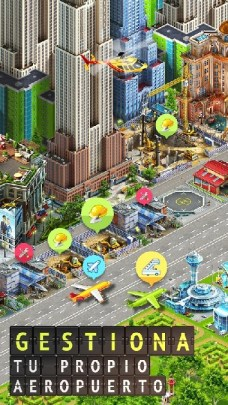 Airport City Airline Tycoon APK MOD imagen 2