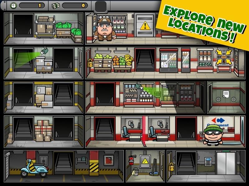 Bob The Robber 4 APK MOD imagen 2