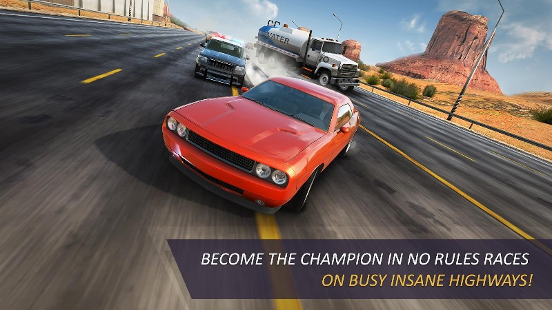 CarX Highway Racing APK MOD imagen 1
