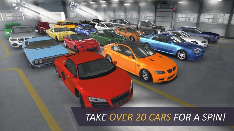 CarX Highway Racing APK MOD imagen 2