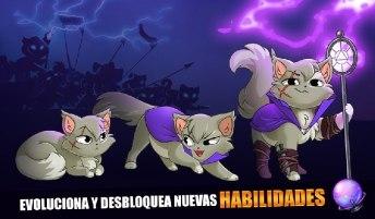 Castle Cats APK MOD imagen 2