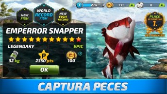 Fishing Clash Catching Fish Game. Bass Hunting 3D APK MOD imagen 4