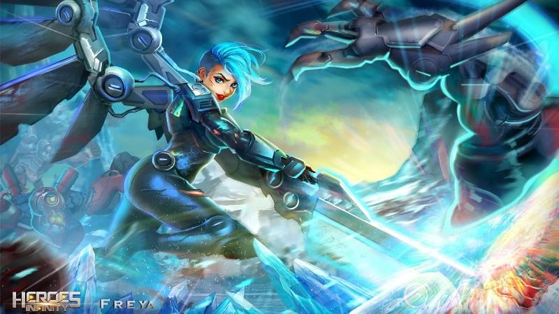 Heroes Infinity Gods Future Fight APK MOD imagen 2