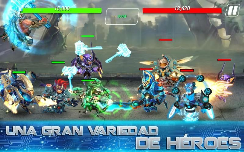 Heroes Infinity Gods Future Fight APK MOD imagen 4