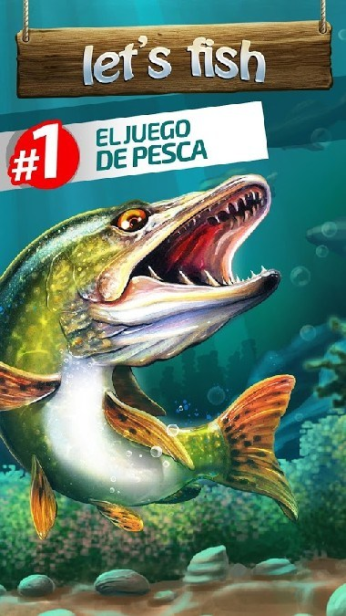 Let's Fish Sport Fishing Games. Fishing Simulator APK MOD imagen 1