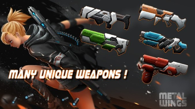 Metal Wings Elite Force APK MOD imagen 5