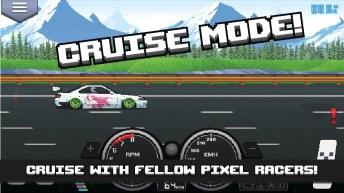 Pixel Car Racer APK MOD imagen 4