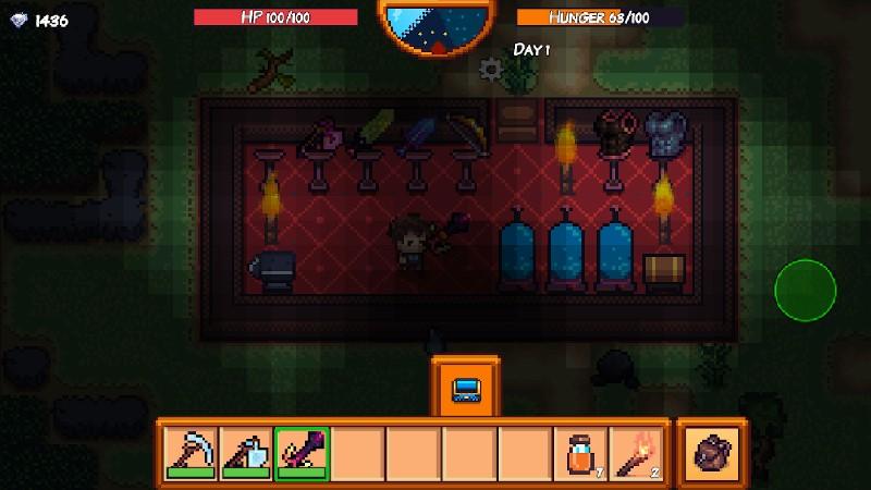 Pixel Survival Game 3 APK MOD imagen 2