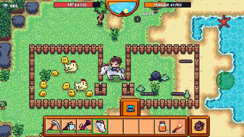 Pixel Survival Game 3 APK MOD imagen 3