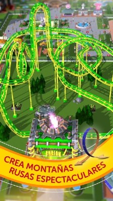 RollerCoaster Tycoon Touch APK MOD imagen 2