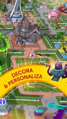 RollerCoaster Tycoon Touch APK MOD imagen 3