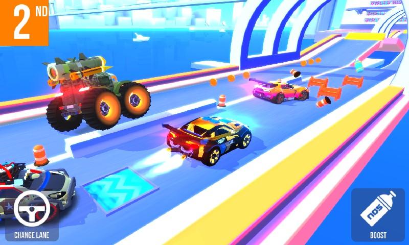 SUP Multiplayer Racing APK MOD imagen 4