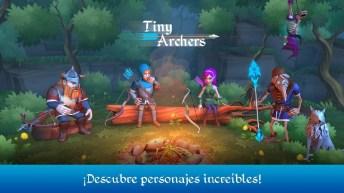 Tiny Archers APK MOD imagen 1
