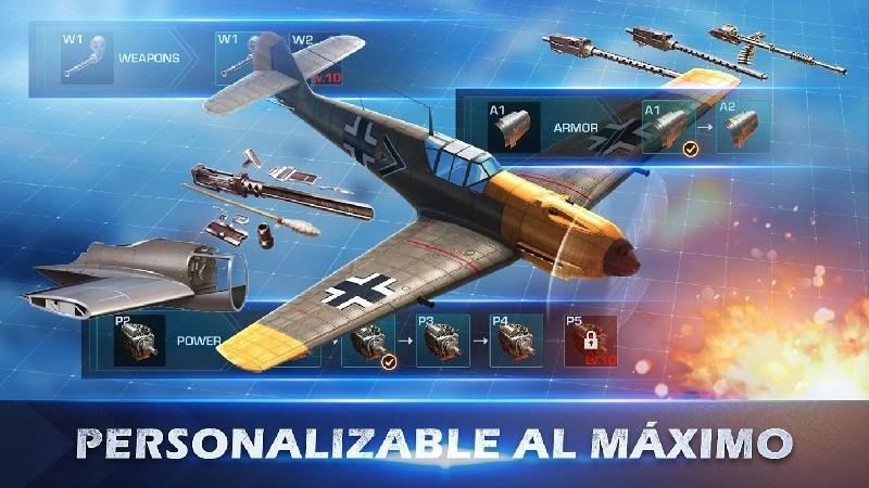War Wings APK MOD imagen 4