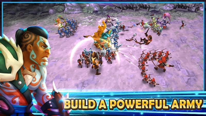 Wartide: Heroes of Atlantis APK MOD imagen 2
