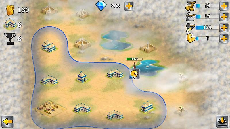 Battle Empire Rome War Game APK MOD imagen 3