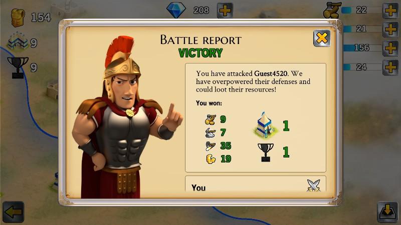 Battle Empire Rome War Game APK MOD imagen 4