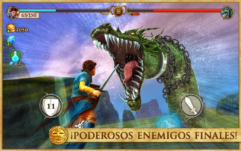 Beast Quest APK MOD imagen 4