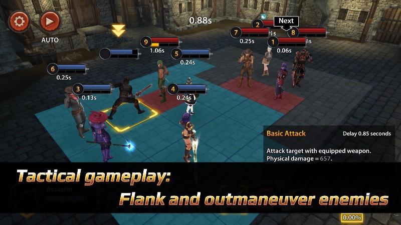 Chrono Clash APK MOD imagen 3