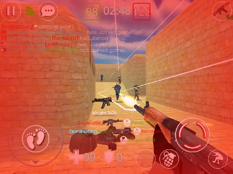 Critical Strikers Online FPS APK MOD imagen 5