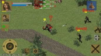 Exiled Kingdoms RPG APK MOD imagen 4