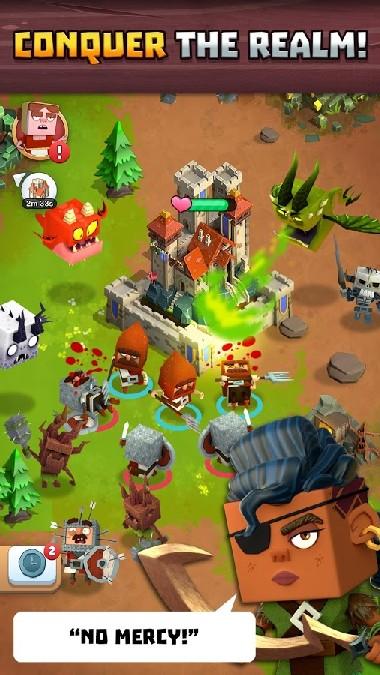Kingdoms of Heckfire APK MOD imagen 2