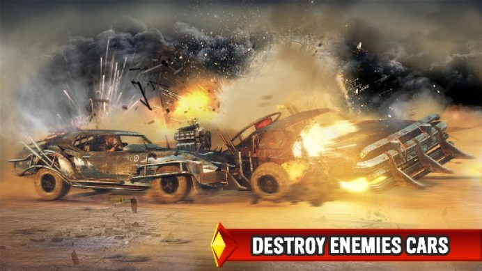 Mad Death Race: Max Road Rage APK MOD imagen 5