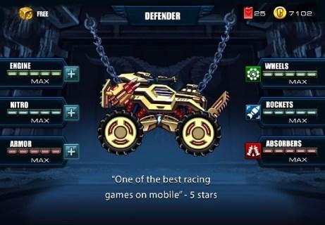Mad Truck Challenge - Racing APK MOD imagen 1