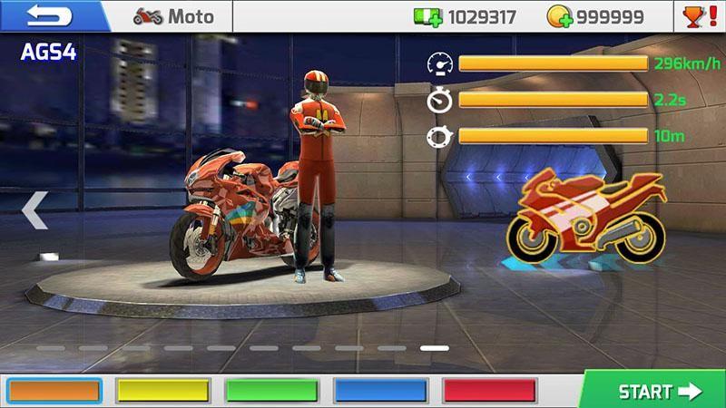 Real Bike Racing APK MOD imagen 5