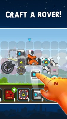RoverCraft Race Your Space Car APK MOD imagen 2
