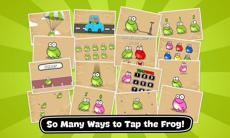Tap the Frog Doodle APK MOD imagen 1
