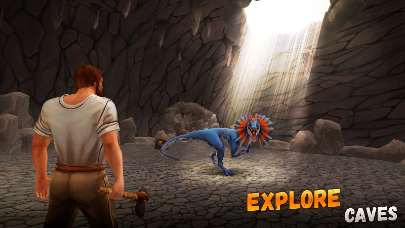 The Ark of Craft 2 Jurassic Survival Island APK MOD imagen 2