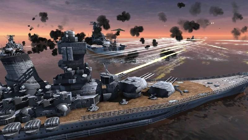 World Warships Combat APK MOD imagen 4
