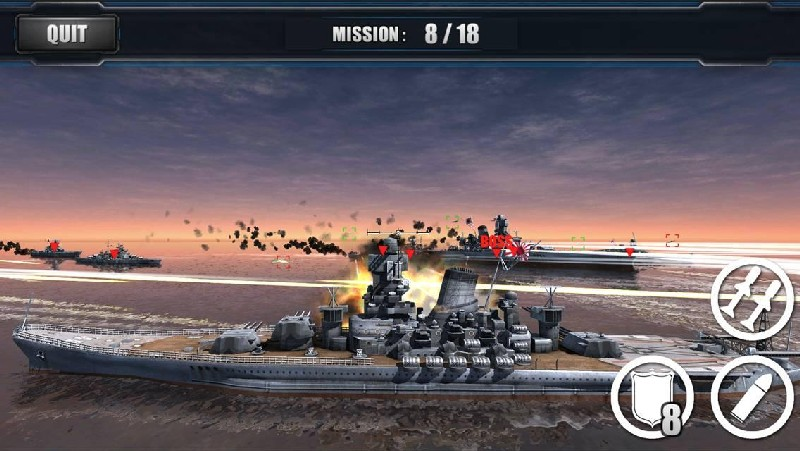 World Warships Combat APK MOD imagen 5