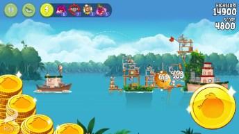 Angry Birds Rio APK MOD imagen 1