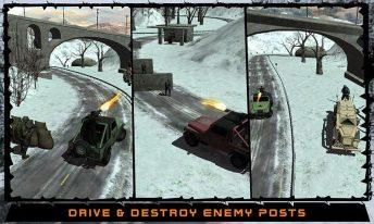 Army War Truck Driver Sim 3D APK MOD imagen 2