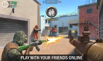 Crime Revolt - 3D Online Shooter APK MOD imagen 1
