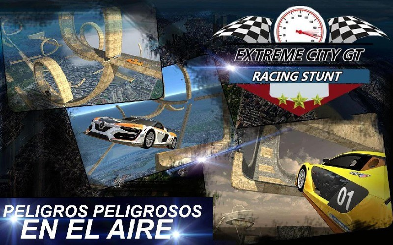 Extreme City GT Racing Stunts APK MOD imagen 1