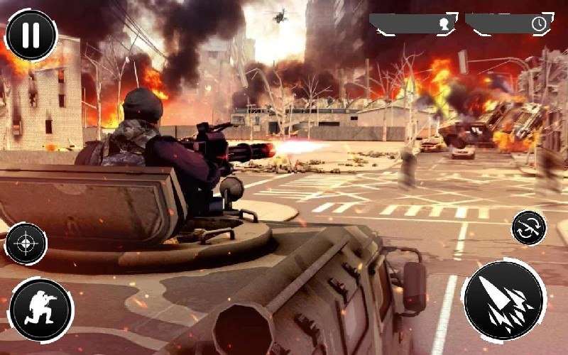 Gunner Battle City APK MOD imagen 1