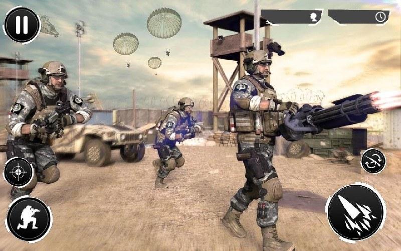 Gunner Battle City APK MOD imagen 5