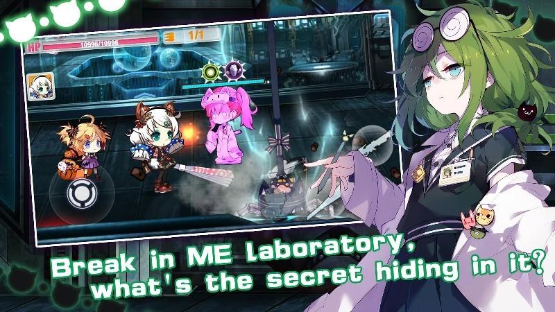 Guns Girl - Honkai Gakuen APK MOD imagen 2