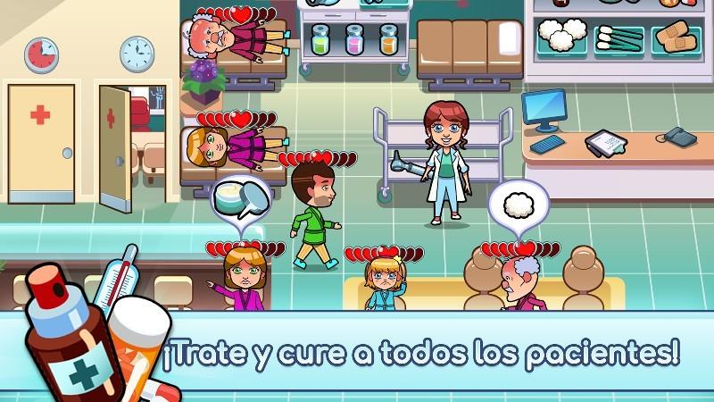 Hospital Dash - Simulator Game APK MOD imagen 2