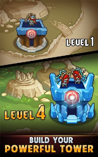 Kingdom Defense Hero Legend TD (Tower Defense) APK MOD imagen 4