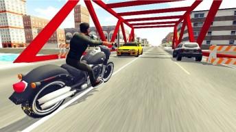 Moto Racer 3D APK MOD imagen 1