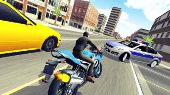Moto Racer 3D APK MOD imagen 2