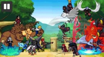 Ninja war 4 APK MOD imagen 1