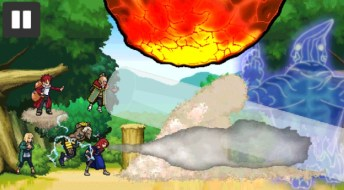 Ninja war 4 APK MOD imagen 3