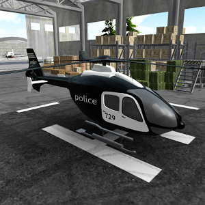 Police Helicopter Simulator APK MOD